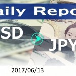 FX:為替 USD/JPY Dailyレポート 2017/06/13