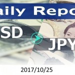 FX:為替 USD/JPY Dailyレポート 2017/10/25
