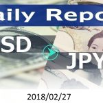 FX:為替 USD/JPY Dailyレポート 2018/02/27