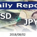 FX:為替 USD/JPY Dailyレポート 2018/08/02