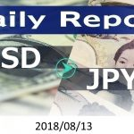 FX:為替 USD/JPY Dailyレポート 2018/08/13