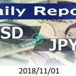 FX:為替 USD/JPY Dailyレポート 2018/11/01